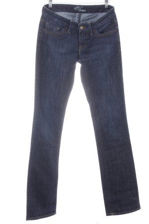 Mavi Boot Cut Jeans dunkelblau Casual-Look