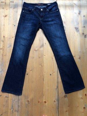 Mavi Bootcut Jeans Bella in dunkelblau