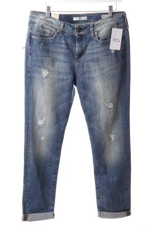 Mavi Boyfriend Jeans Blau