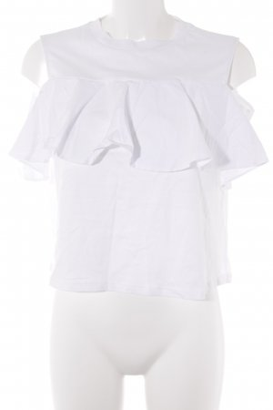 Mavi Cut Out Top white romantic style