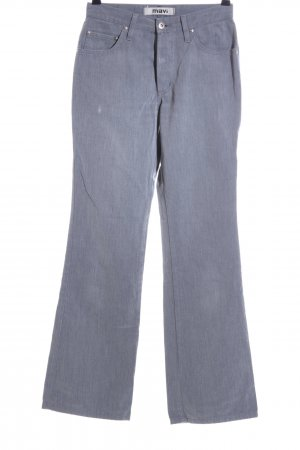 Mavi High Waist Jeans hellgrau meliert Casual-Look