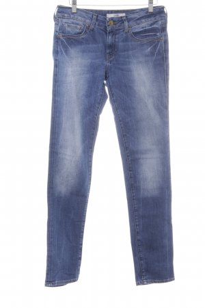 Mavi High Waist Jeans dunkelblau Street-Fashion-Look
