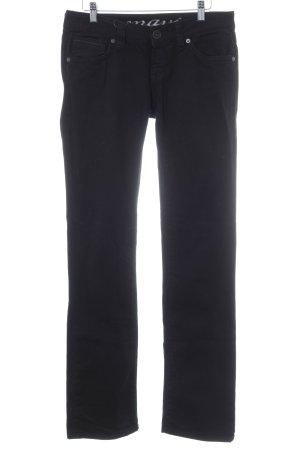 Mavi Low Rise Jeans black casual look