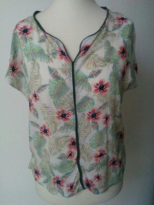 MAVI Jeans Bluse Shirt Top Floral Hawaii Luftig Gr. L NEU
