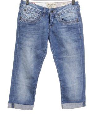 Mavi Jeans Co. Jeans 3/4 bleu acier style décontracté