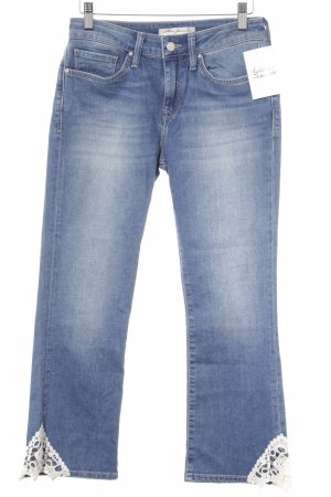 Mavi Jeans Co. 7/8-jeans blauw casual uitstraling