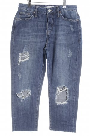 Mavi Jeans Co. 7/8 Jeans blau Destroy-Optik