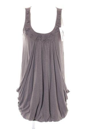 Mavi Jeans Co. vestido de globo marrón grisáceo estilo extravagante
