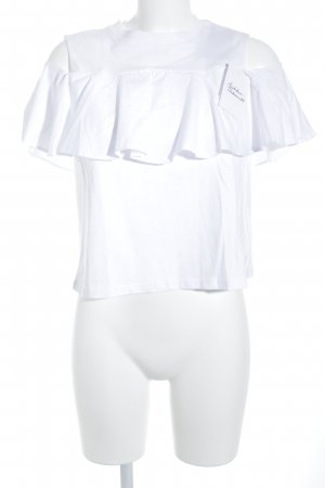 Mavi Jeans Co. Blusentop weiß Street-Fashion-Look