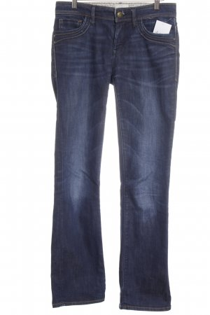 Mavi Jeans Co. Boot Cut Jeans blau Casual-Look