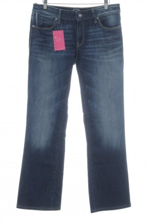 Mavi Jeans Co. Boot Cut Jeans blau Jeans-Optik