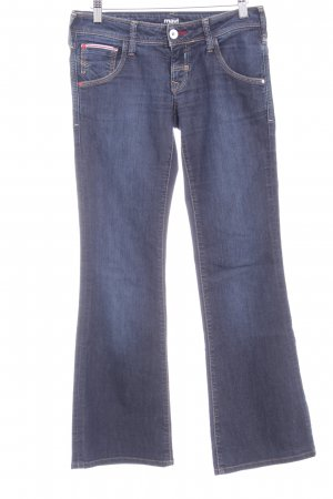 Mavi Jeans Co. Boot Cut Jeans dunkelblau Street-Fashion-Look