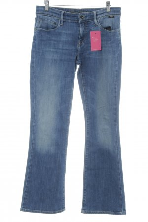 Mavi Jeans Co. Boot Cut Jeans kornblumenblau-himmelblau Casual-Look