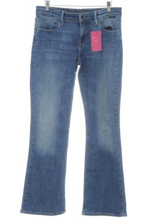Mavi Jeans Co. Vaquero de corte bota azul aciano-azul celeste look casual