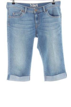 Mavi Jeans Co. Capribroek blauw casual uitstraling