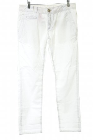 Mavi Jeans Co. Chinohose weiß Boyfriend-Look