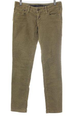 Mavi Jeans Co. Pantalón de pana verde oliva-color bronce look casual