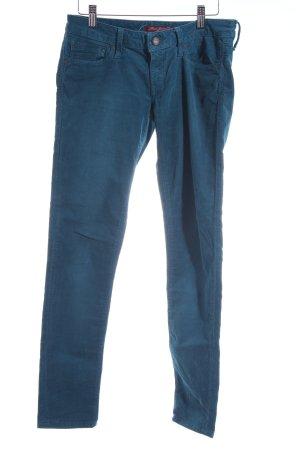 """Mavi Jeans Co. Pantalone di velluto a coste """"Serena"""" blu cadetto"""