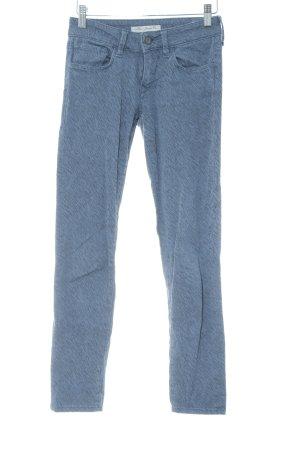 Mavi Jeans Co. Five-Pocket-Hose graublau-schwarz Animalmuster Animal-Look
