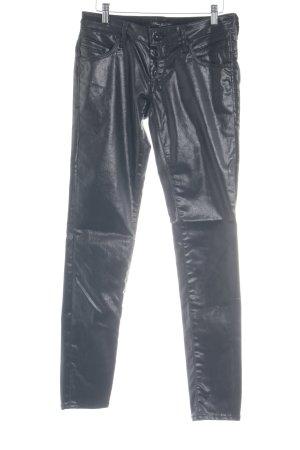 Mavi Jeans Co. Five-Pocket Trousers black elegant
