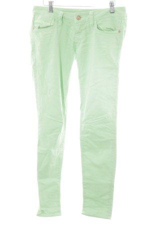 Mavi Jeans Co. Hüfthose hellgrün Casual-Look