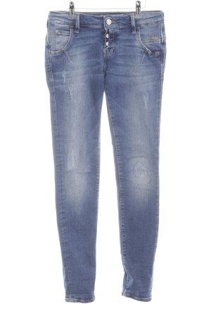Mavi Jeans Co. Hüftjeans blau Casual-Look