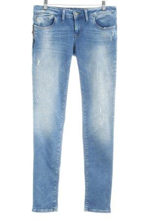 Mavi Jeans Co. Jeans vita bassa blu scuro stile casual