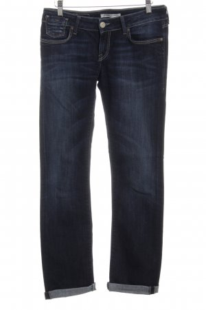 Mavi Jeans Co. Hüftjeans dunkelblau-graublau Washed-Optik