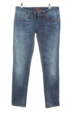 Mavi Jeans Co. Hüftjeans dunkelblau Jeans-Optik