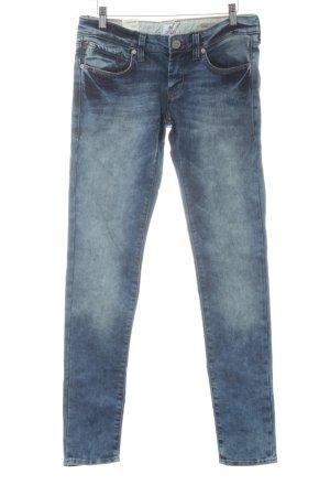 Mavi Jeans Co. Hüftjeans kornblumenblau-stahlblau Casual-Look