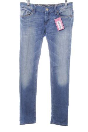 Mavi Jeans Co. Hüftjeans stahlblau Jeans-Optik