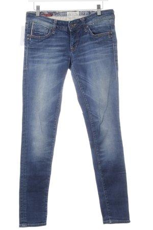 Mavi Jeans Co. Hüftjeans weiß-stahlblau Casual-Look