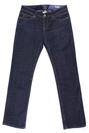 Mavi Jeans Co. Jeans mit Falten blau Größe W27/L30