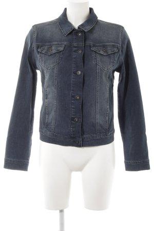 Mavi Jeans Co. Jeansjacke dunkelblau Street-Fashion-Look