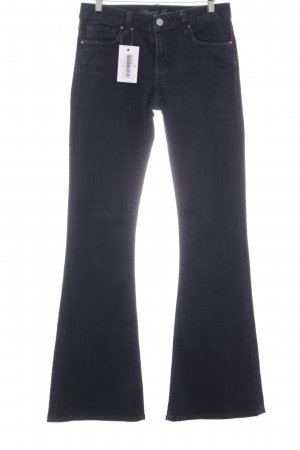 Mavi Jeans Co. Jeans flare bleu foncé style décontracté