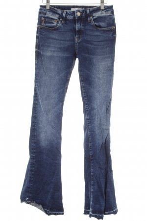 "Mavi Jeans Co. Jeans a zampa d'elefante ""Peace"" blu"