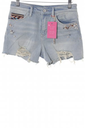 Mavi Jeans Co. Jeansshorts himmelblau Casual-Look