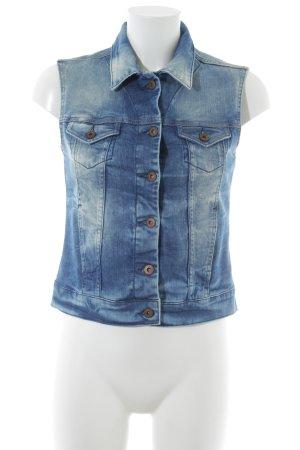 Mavi Jeans Co. Jeansweste blau Casual-Look