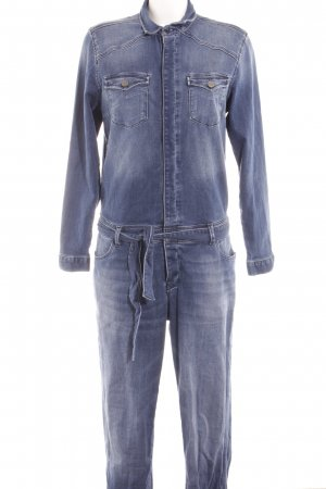 Mavi Jeans Co. Jumpsuit blau Jeans-Optik