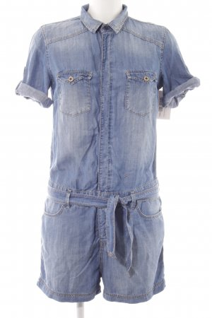 Mavi Jeans Co. Jumpsuit kornblumenblau Casual-Look