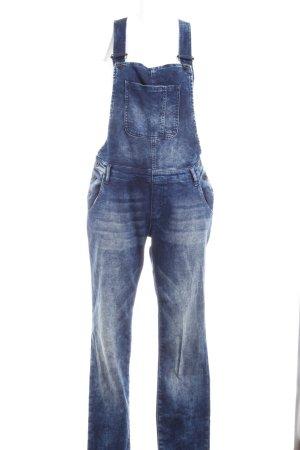 Mavi Jeans Co. Vaquero tipo peto azul oscuro look casual