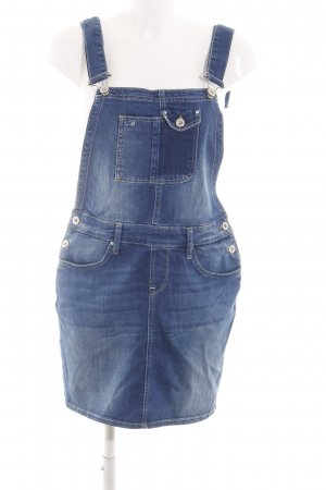 Mavi Jeans Co. Overgooier overall rok blauw casual uitstraling