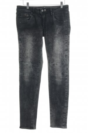 Mavi Jeans Co. Röhrenhose schwarz-hellgrau Farbverlauf Casual-Look