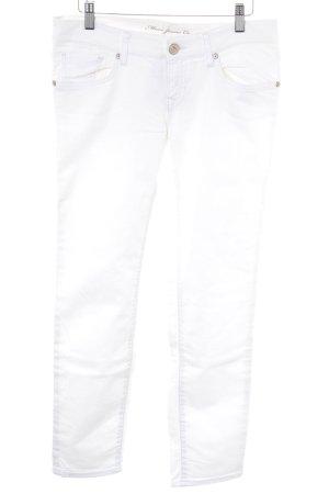 Mavi Jeans Co. Röhrenhose weiß Casual-Look