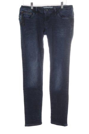 Mavi Jeans Co. Röhrenjeans dunkelblau Casual-Look