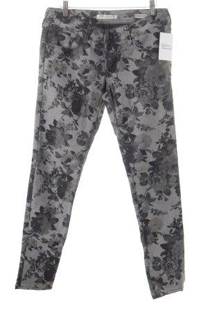 Mavi Jeans Co. Röhrenjeans grau-dunkelgrau Blumenmuster klassischer Stil 0e2f9496d1