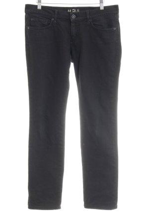 Mavi Jeans Co. Röhrenjeans schwarz Casual-Look