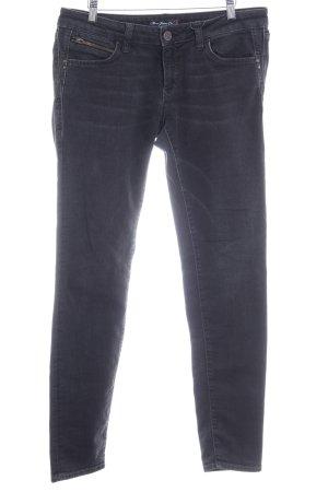 Mavi Jeans Co. Röhrenjeans schwarz Washed-Optik