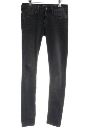 Mavi Jeans Co. Skinny Jeans anthrazit Used-Optik