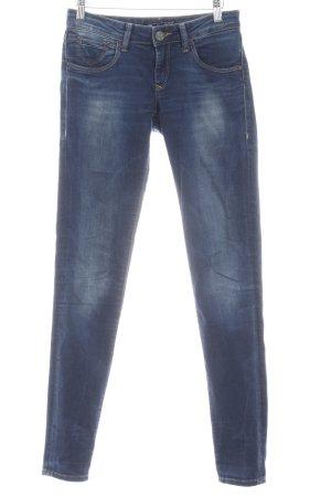 Mavi Jeans Co. Skinny Jeans blassblau-dunkelblau Washed-Optik